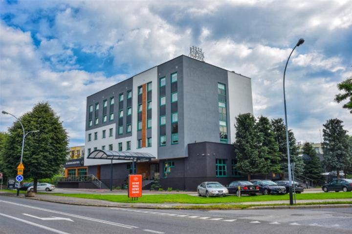 Hotel Nafta Krosno oficjalnie w programie