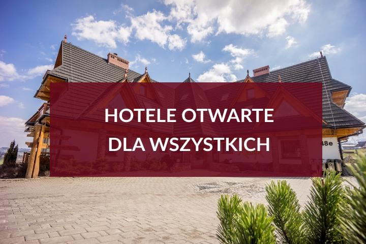 Od 8 maja hotele otwarte dla wszystkich