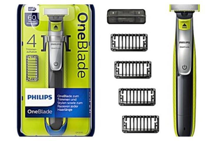 Philips One Blade QP2530/30 - zestaw z 4 nasadkami i 2 ostrzami